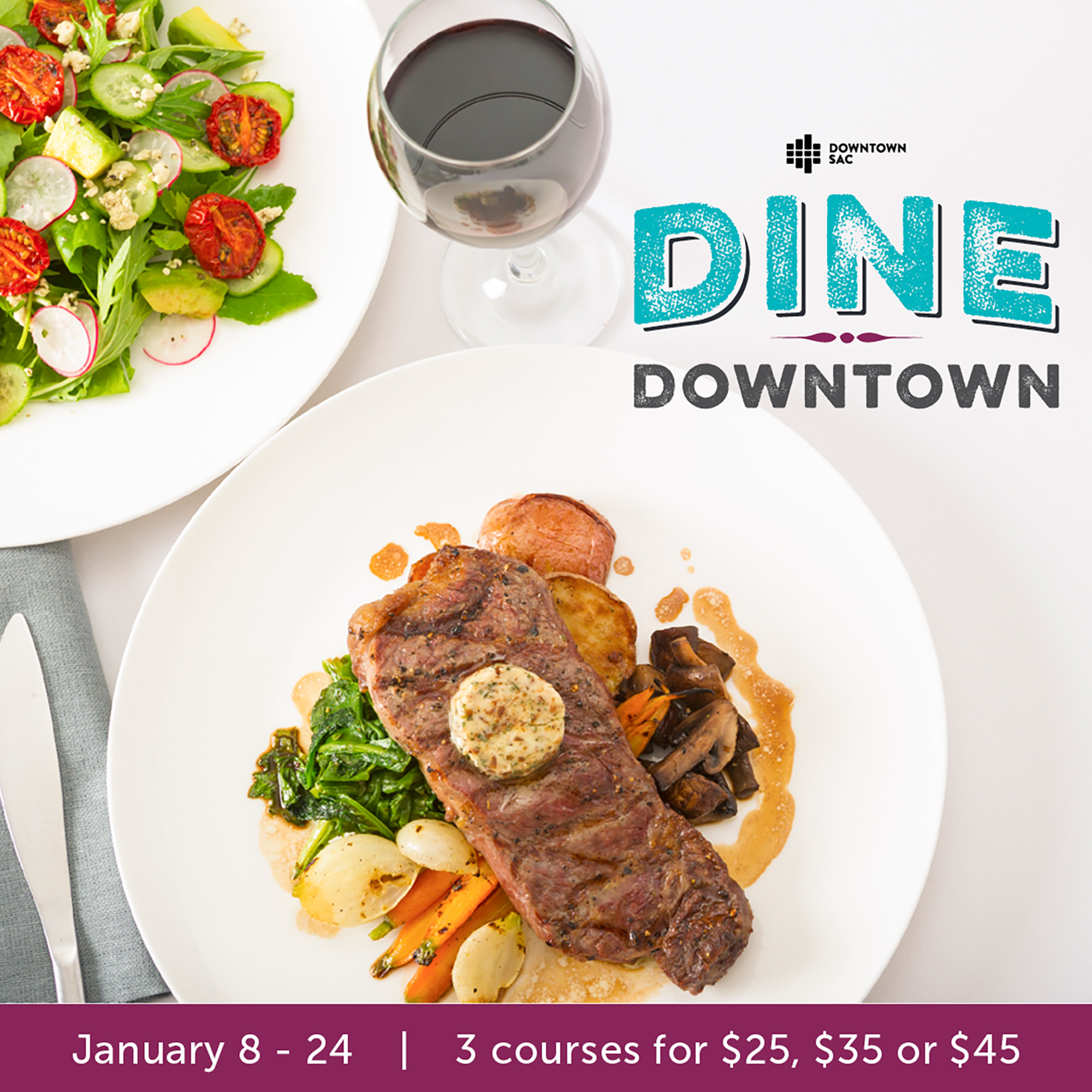 Dine Downtown... or wherever! 16th annual Sacramento culinary celebration goes curbside